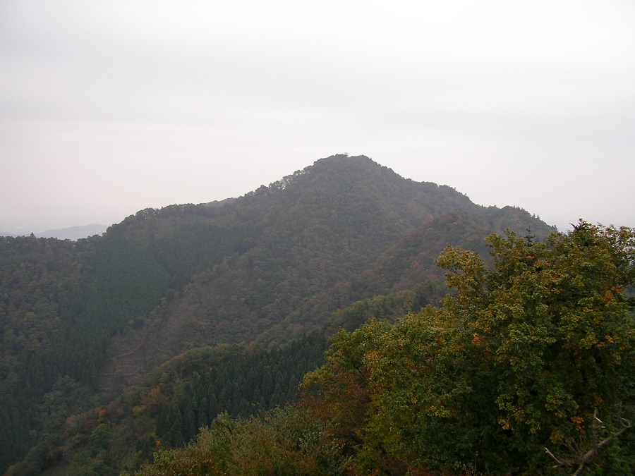 下山時にどしゃ降りにあった仏果山